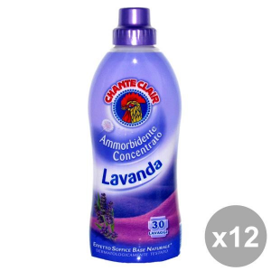 CHANTE CLAIR Set  12 Ammorbidente Concentrato 625 Ml. Lavanda Detergenti Casa