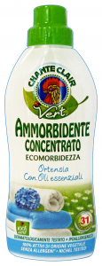 CHANTE CLAIR Ammorbidente Concentrato Eco.Ortensia 625 Ml. Detergenti Casa