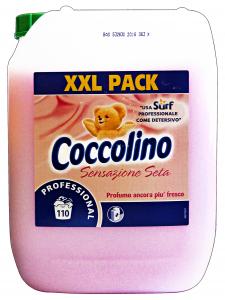 COCCOLINO Professionale Ammorbidente 10 Lt Sensazione Seta 110 Misurini