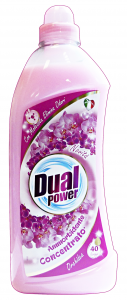 DUAL POWER Ammorbidente concentrato 40 lavaggi orchidea 1 lt.