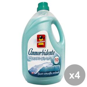 Set 4 DAMINA Ammorbidente 52 MIS.Muschio Bianco 3,9 Lt. Detergenti casa