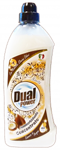 DUAL POWER Ammorbidente concentrato 40 lavaggi argan 1 lt.