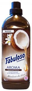 FABULOSO Ammorbidente concentrato 1 lt. fiori bianchi/cocco