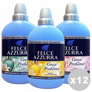 FELCE AZZURRA Set 12 FELCE AZZURRA Ammorbidente concentrato neroli/peonia/giglio 750 ml.