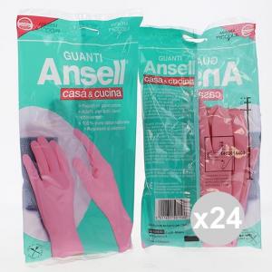 Set 24 ANSELL  Guanti Casa&Cucina Piccola Pulizia della casa bucato e detergenza