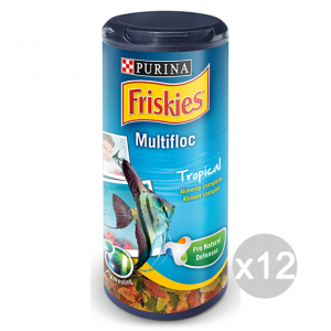 Set 12 BOB MARTIN Pesci Tropicali Alimento Completo Fiocchi 36 Gr Mangime Pesci