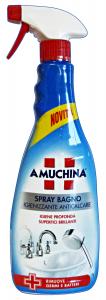 AMUCHINA Anticalcare Bagno TRIGGER 750 Ml. Detergenti Casa