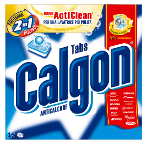 CALGON Anticalcare X 15 Pastiglie Detergenti Casa