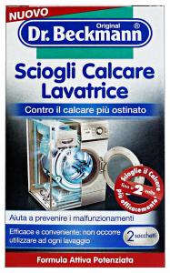 DR.BECKMANN SCIOGLI Calcare Lavatrice X2 Bustine 100 Gr. Detergenti Casa