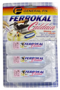GENERAL FIX Anticalcare Caldaia Ferro Stiro 3 Pezzi Pulizia Specifica