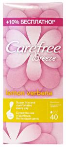 CAREFREE X40 pz. breeze salvaslip - Assorbenti salvaslip