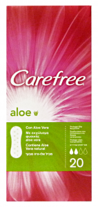 CAREFREE X20 pz. aloe salvaslip - Assorbenti salvaslip