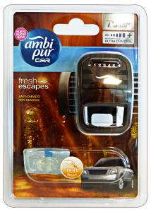 AMBI PUR Auto Base Anti-Tabacco Deodorante Accessori Auto E Moto