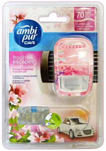 AMBI-PUR Auto Base FIORI Delicati Deodorante Accessori auto e moto