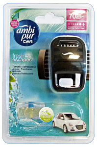 AMBI-PUR Auto Base AQUA Deodorante Accessori auto e moto