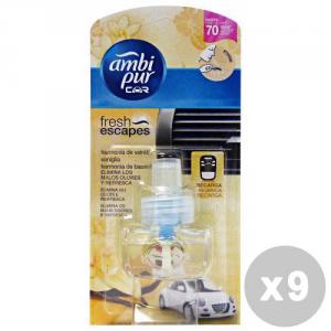 AMBI PUR Set 9 AMBI PUR Ricarica vaniglia deodorante auto - articoli per auto