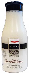 AQUOLINA Bagnoschiuma 250 ml. cioccolato bianco - bagno schiuma
