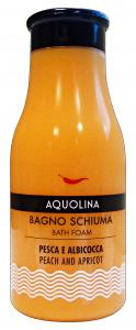 AQUOLINA Bagnoschiuma 250 ml. pesca & albicocca - bagno schiuma