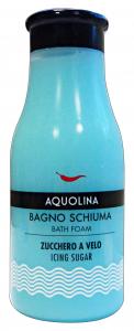 AQUOLINA Bagnoschiuma 250 ml. zucchero a velo - bagno schiuma