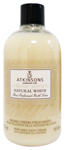 ATKINSONS Bagno NaturaL WHITE 500 Ml. Saponi e cosmetici