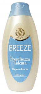 BREEZE Set  6 Bagno Freschezza Talcata 400 Ml. Saponi E Cosmetici
