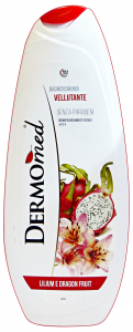 DERMOMED Bagno Lilium-Dragon Fruit 500 Ml. Saponi E Cosmetici