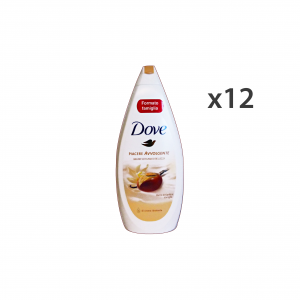 Set 12 DOVE Bagno KARITE-VANIGLIA 700 Ml.  Saponi e cosmetici