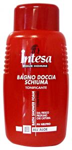 INTESA Bagno/Doccia Tonificante Aloe 500 Ml. Bagno Schiuma