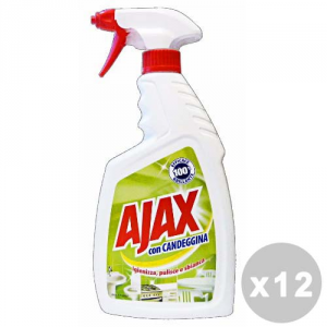 AJAX Set 12 AJAX Candeggina trigger 750 ml.