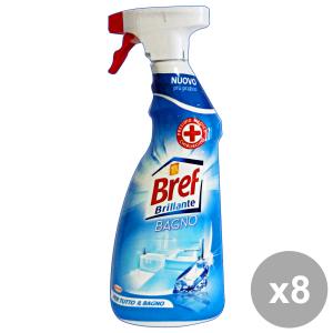 Set 8 BREF Bagno TRIGGER 750 Ml. Detergenti casa