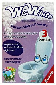 ARCOBALENO WC Disincrostante X 3 Bustine Detergenti Casa