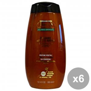 Set 6 BIOQ Balsamo Argan 300 Ml. Prodotti per capelli