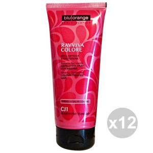Set 4 BLU ORANGE ravviva colore balsamo 200 ml. prodotti per capelli