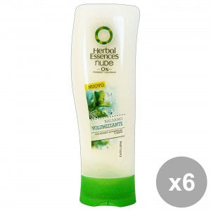 Set 6 HERBAL ESSENCES Balsamo Nude Volumizzante 200 Ml. Prodotti per capelli