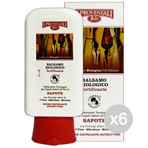 Set 6 I PROVENZALI Olio Di Sapote Balsamo Bio.Fort.200 Ml Prodotto Per Capelli