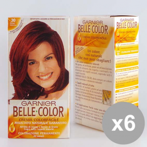BELLE COLOR Set 6 30 Rosso Intenso