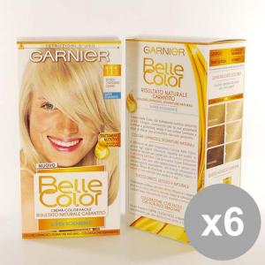 Set 6 BELLE Color 111 Biondo Ch.Mo Cenere Colorazioni per capelli