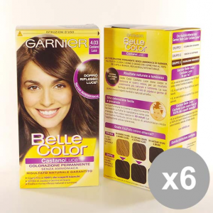 BELLE COLOR Set 6 4,03 Castano Luce