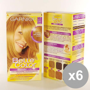 Set 6 BELLE Color 7,31 Biond.Sabbia Do Colorazioni per capelli
