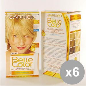 Set 6 BELLE Color 112 Biondo Ch.Mo Dorato Colorazioni per capelli