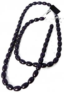 DEBBY Collana perle ovali viola - Accessori toiletteria