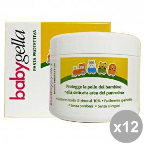 Set 12 BABYGELLA Pasta Protezione Vaso 150 Ml. Linea Bimbo