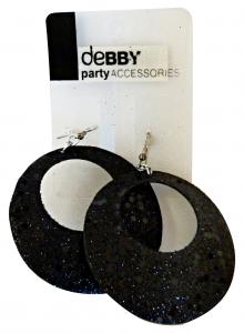 DEBBY Orecchini paillettes neri - Accessori toiletteria