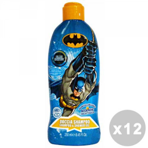 BATMAN Set 12 BATMAN Doccia shampoo 250 ml. - linea bimbo