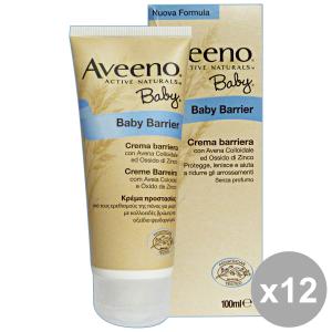 Set 4 AVEENO baby crema barriera avena-zinco 100 ml linea bimbo