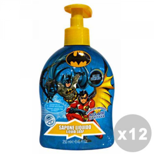 BATMAN Set 12 BATMAN Sapone liquido 250 ml. - linea bimbo