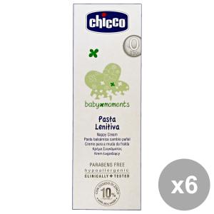 Set 6 CHICCO BIMBO Pasta Lenitiva 100 Ml.  Linea Bimbo