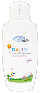 DEA Baby olio massaggio david 200 ml. - linea bimbo