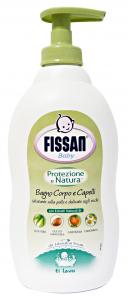 FISSAN Baby Bagno Protezione Natura 400 Ml. Linea Bimbo