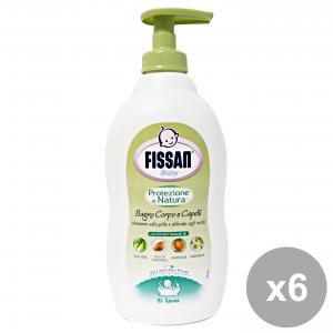 FISSAN Set  6 Baby Bagno Protezione Natura 400 Ml. Linea Bimbo